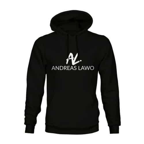 Andreas Lawo Hoodie Unisex schwarz