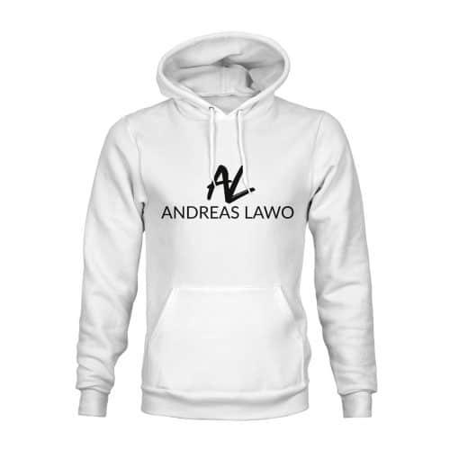 Andreas Lawo Hoodie Unisex weiß