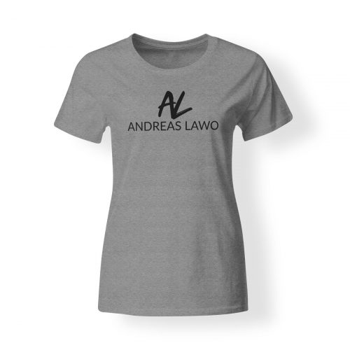 Andreas Lawo T-Shirt Damen grau