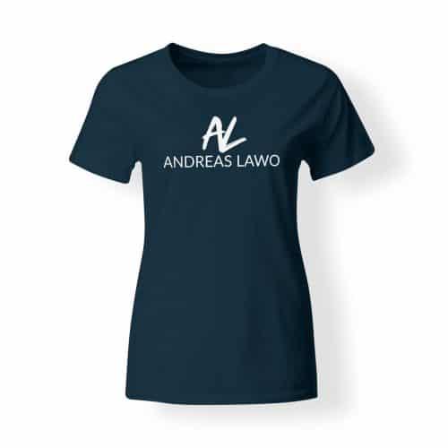 Andreas Lawo T-Shirt Damen navy