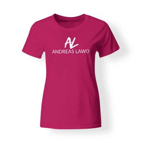 Andreas Lawo T-Shirt Damen pink