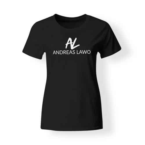 Andreas Lawo T-Shirt Damen schwarz