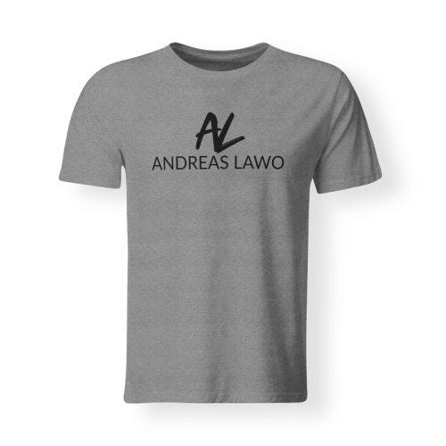 Andreas Lawo T-Shirt grau heather