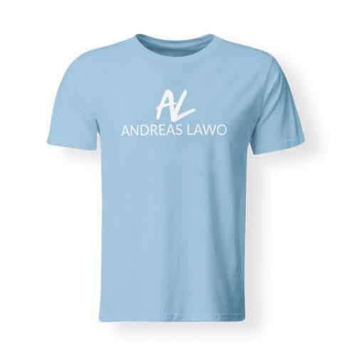 Andreas Lawo T-Shirt hellblau