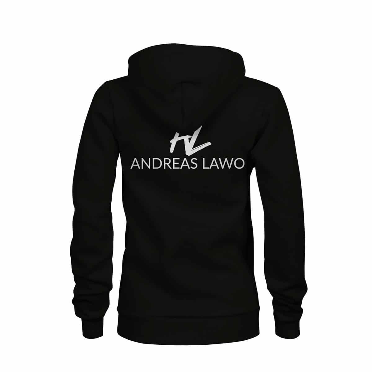 Andreas Lawo ZIP Hoodie Damen schwarz