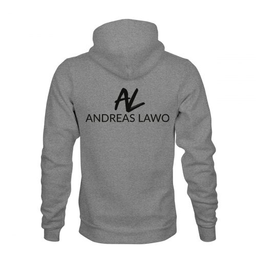 Andreas Lawo ZIP Hoodie Unisex grau