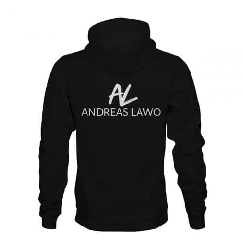 Andreas Lawo ZIP Hoodie Unisex schwarz