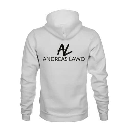 Andreas Lawo ZIP Hoodie Unisex weiß