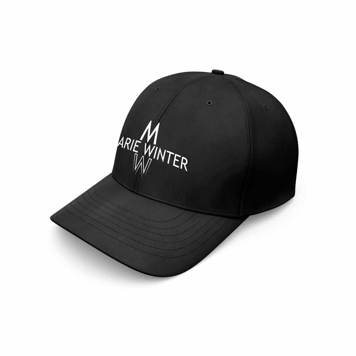 Baseball Cap Marie Winter schwarz