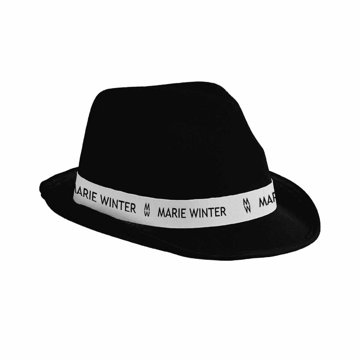 Marie Winter Hut schwarz