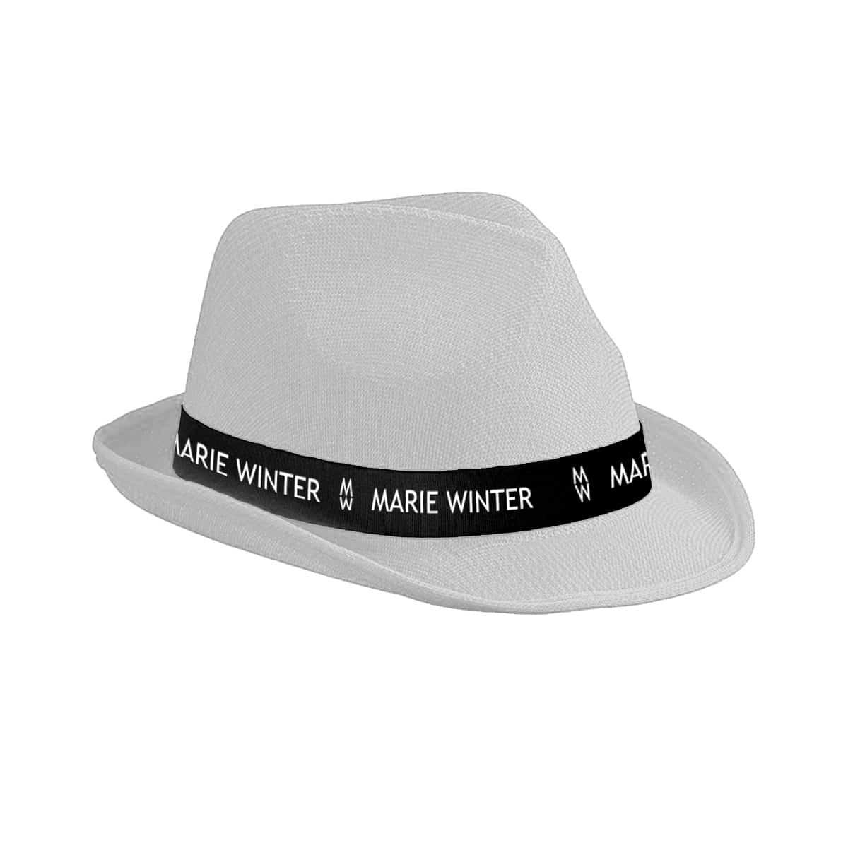 Marie Winter Hut weiß