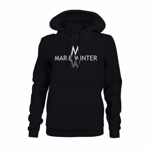 Marie Winter Hoodie Damen schwarz
