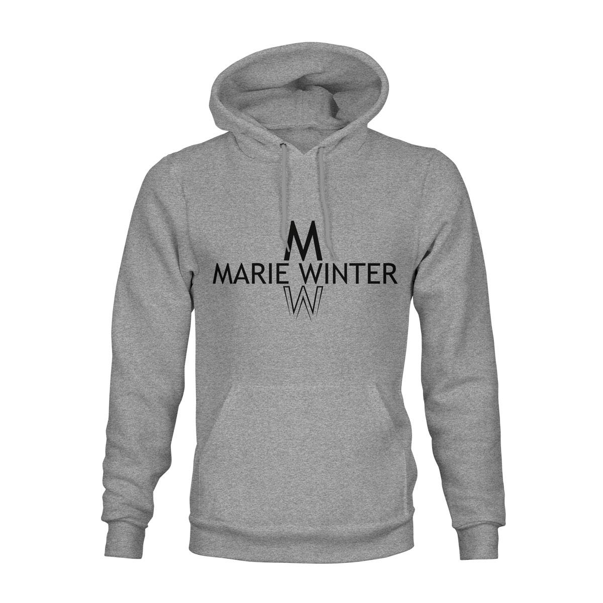 Marie Winter Hoodie Unisex grau
