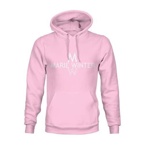 Marie Winter Hoodie Unisex rosa