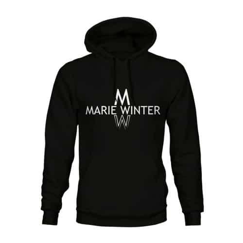 Marie Winter Hoodie Unisex schwarz