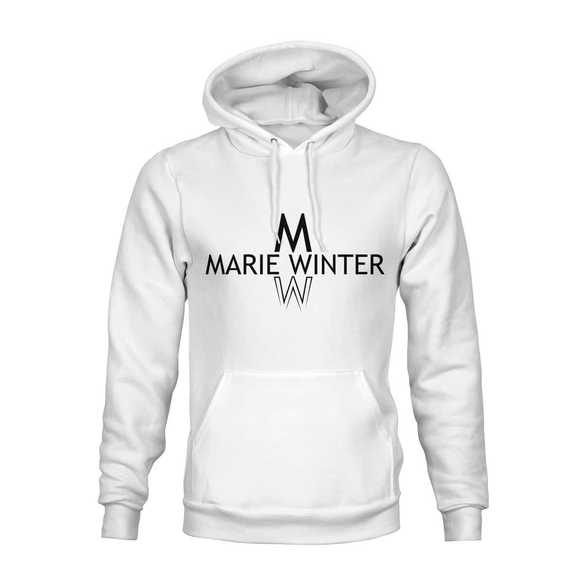 Marie Winter Hoodie Unisex weiß