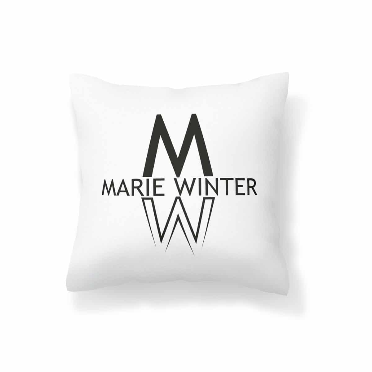 Marie Winter Kissen Logo