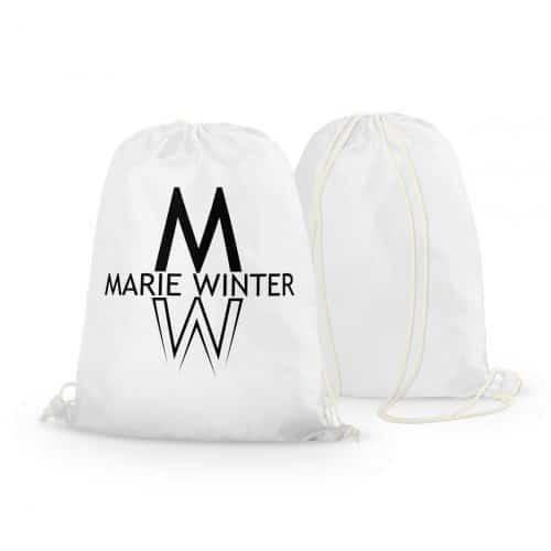 Rucksack Marie Winter weiß