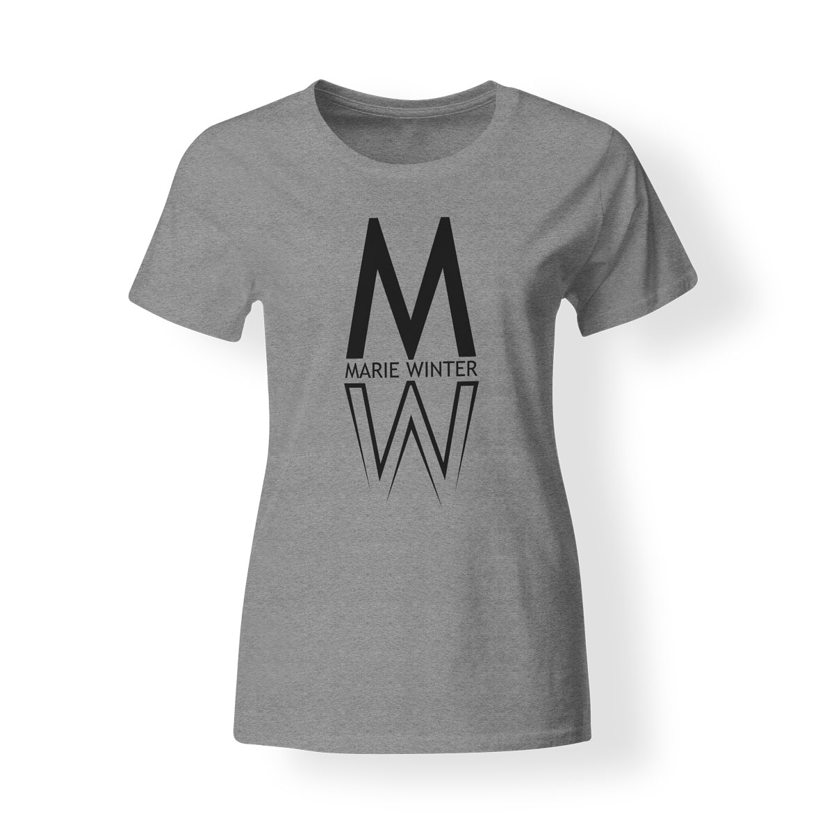 Marie Winter Damen T-Shirt grau
