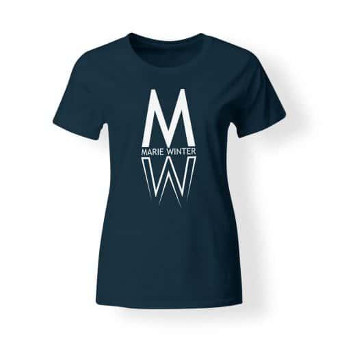 Marie Winter Damen T-Shirt navy