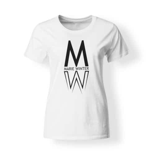 Marie Winter Damen T-Shirt weiß