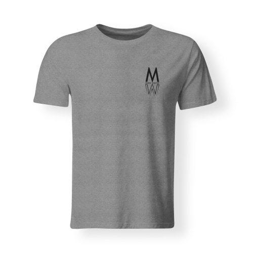 T-Shirt Marie Winter Herren grau