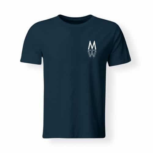 T-Shirt Marie Winter Herren navy