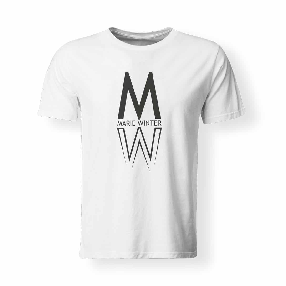 T-Shirt Marie Winter Herren weiß