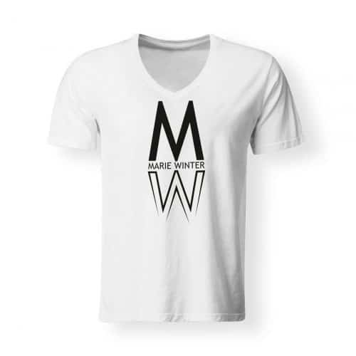 T-Shirt Marie Winter Herren weiß