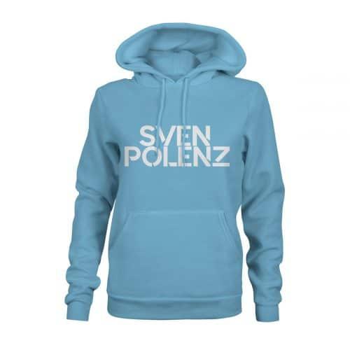 Hoodie Damen Sven Polenz hellblau