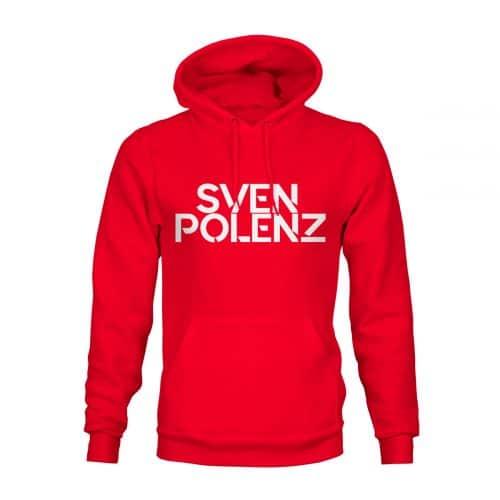 Hoodie Sven Polenz rot