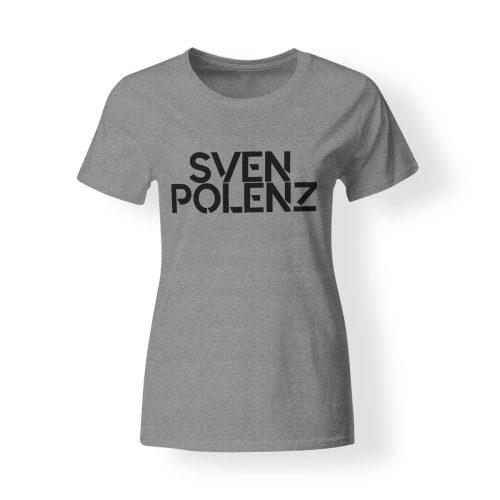 T-Shirt Damen Sven Polenz grau