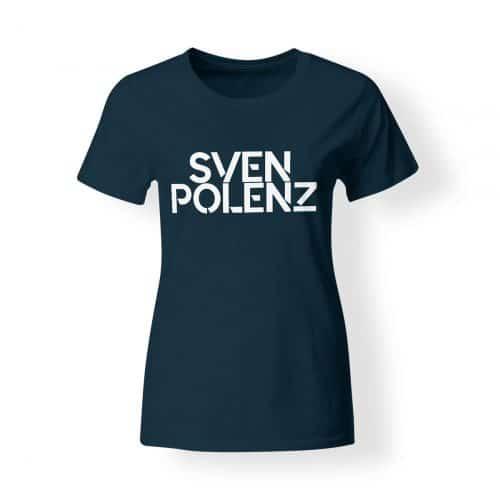 T-Shirt Damen Sven Polenz navy