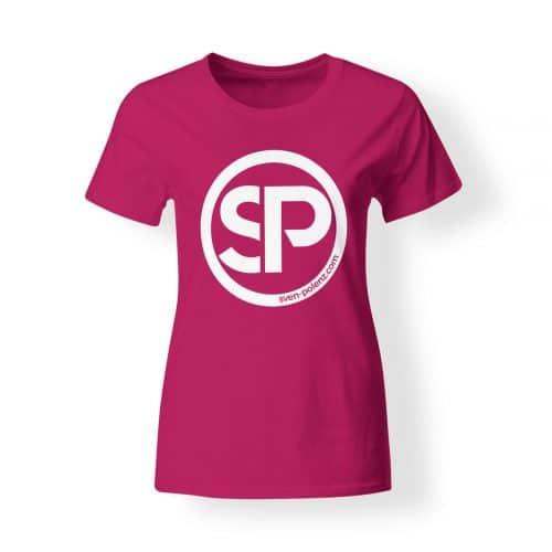 T-Shirt Damen Sven Polenz pink