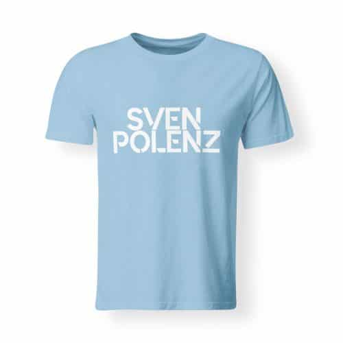 Sven Polenz T-Shirt Herren hellblau