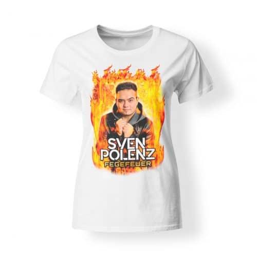 T-Shirt Damen Sven Polenz Fegefeuer