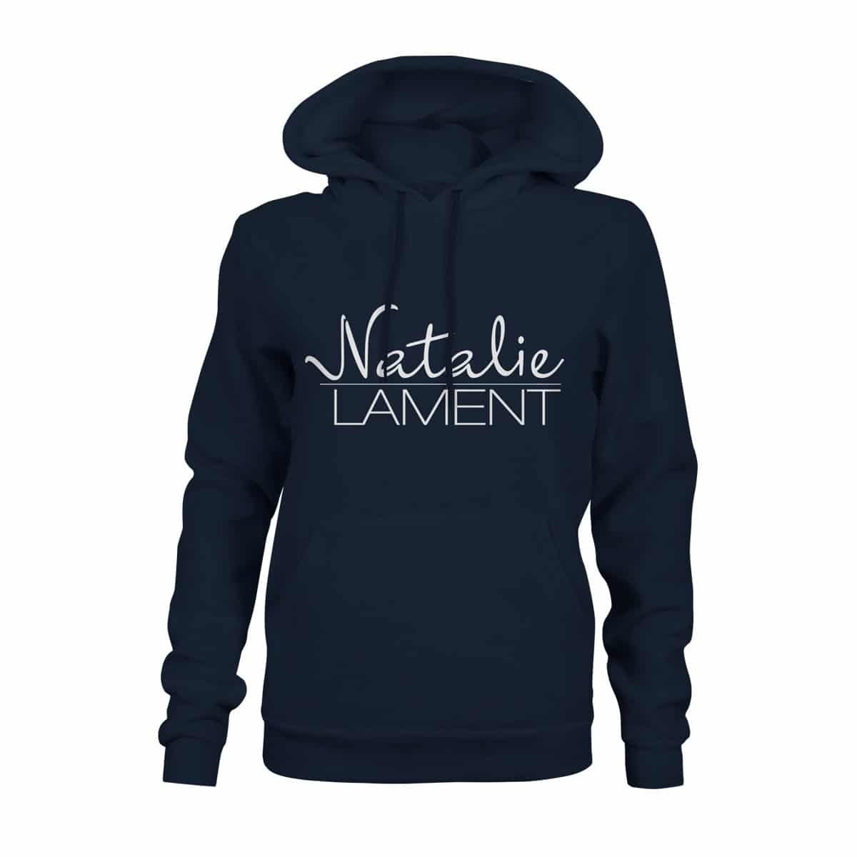 Hoodie Damen Natalie Lament navy