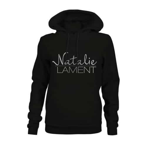 Hoodie Damen Natalie Lament schwarz