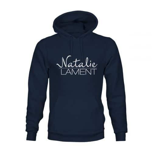 Natalie Lament Hoodie Unisex navy