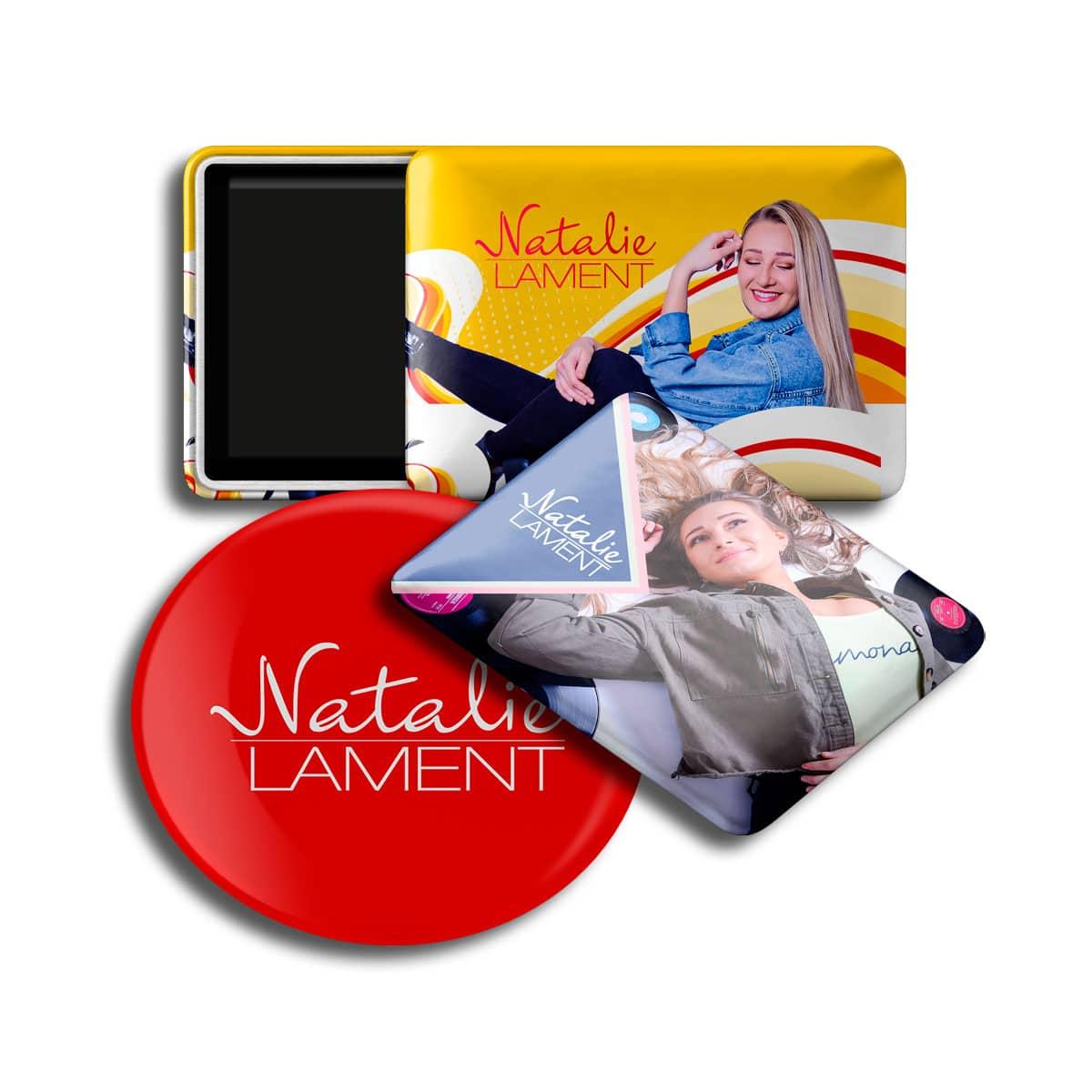 Magnet-Button Set Natalie Lament 3teilig