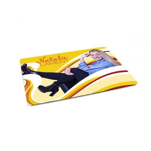 Natalie Lament Mousepad Foto Motiv gelb