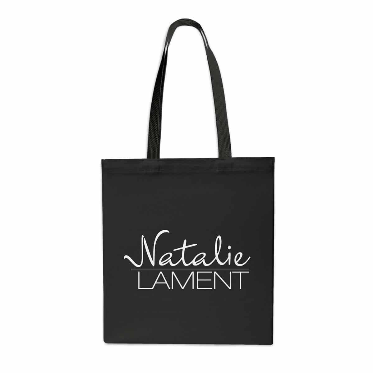 Stofftasche Natalie Lament schwarz