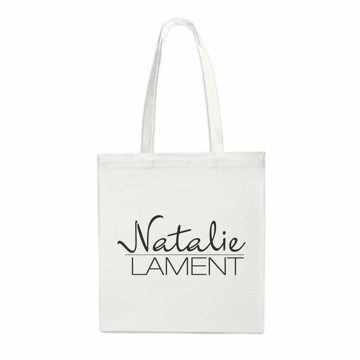 Stofftasche Natalie Lament weiß
