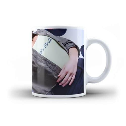 Tasse Natalie Lament Foto Motiv liegend