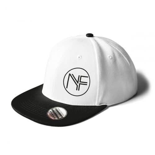 Cap Snapback Nicole Freytag weiß-schwarz Sign