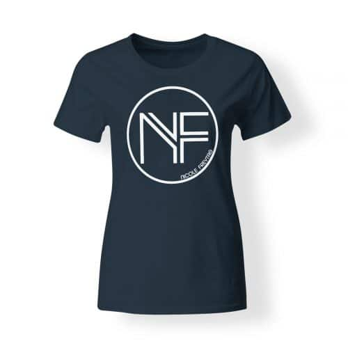 T-Shirt Damen Nicole Freytag Sign navy