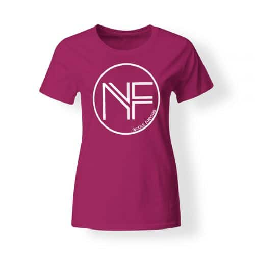 T-Shirt Damen Nicole Freytag Sign pink