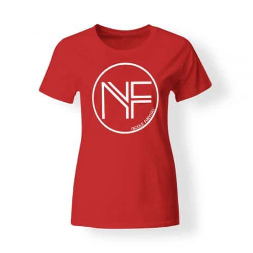 T-Shirt Damen Nicole Freytag Sign rot