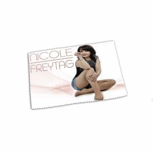 Glasreinigungstuch Brillenputztuch Nicole Freytag