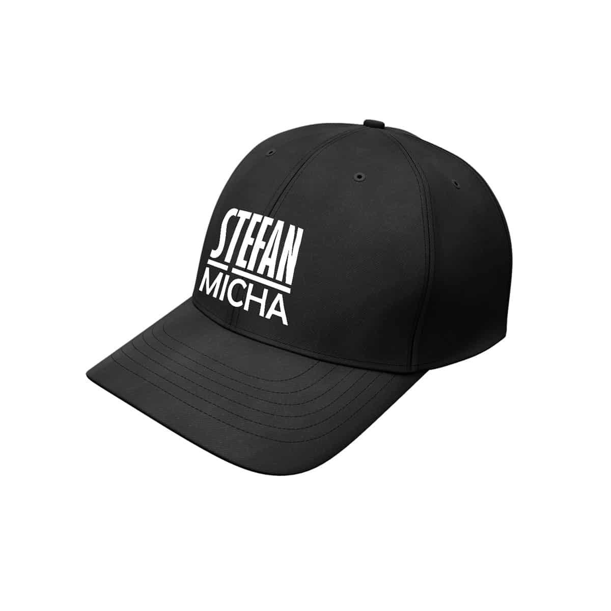 Baseball Cap Stefan Micha Logo schwarz